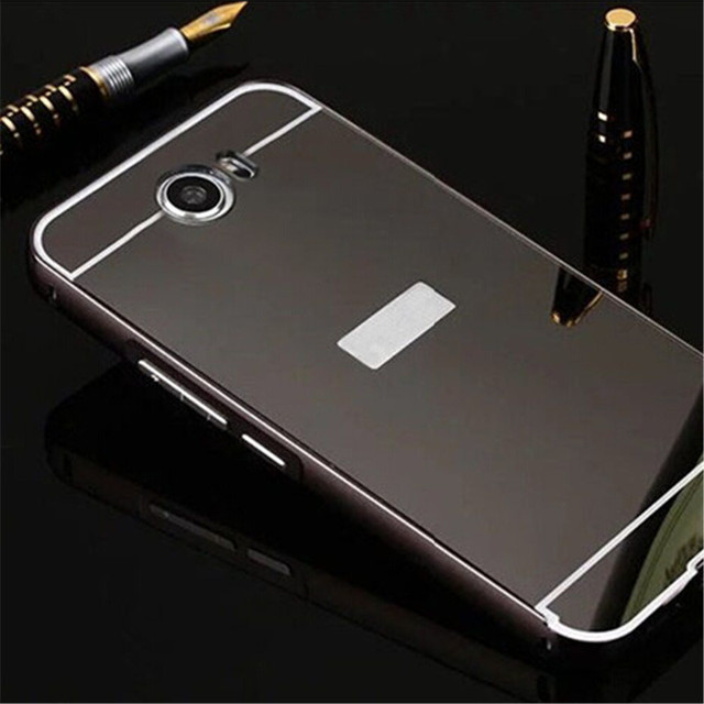 size 40 8eb1b 0534f US $2.57  For Huawei Y5 2 Metal Aluminum Frame + Acrylic Mirror Back Cover  Case For Huawei Y5 II Y5ii 5.0 inch Mobile Phone Back Cases on ...