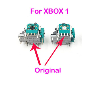 Image 2 - 10Pcs 3D Joystick for Xbox One Caps Thumbstick Sensor Replacement Analog Module Axis for XBox One Controller Case