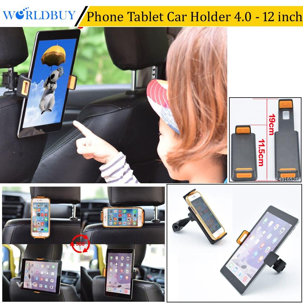 Worldbuy 360 градусов ratating автомобилей Грузовик Вернуться подголовник сиденья Tablet телефона держатель сотового телефона для iPhone X Samsung Подставки …
