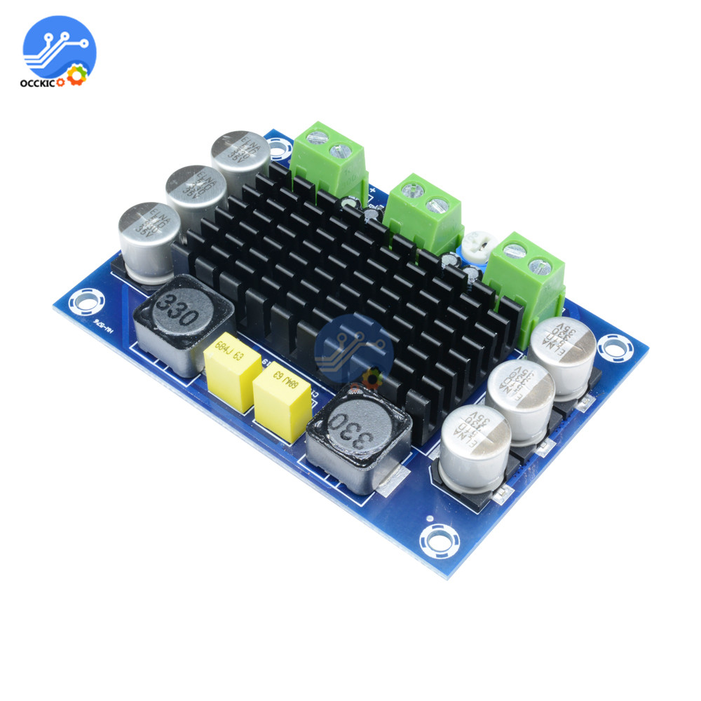 TPA3116D2 Mono Amplifier Board 100W DC 12V-26V High Power Audio Digital AMP Module Sound Speaker Board Volume Control