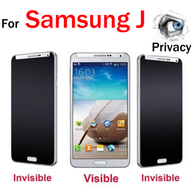 Us 1 81 9 Off For Samsung J2 Pro 2018 Privacy Screen Protector Galaxy J2 J3 J5 J7 Pro 2017 Pime 2016 Tempered Glass Not Full Cover Glas Film In