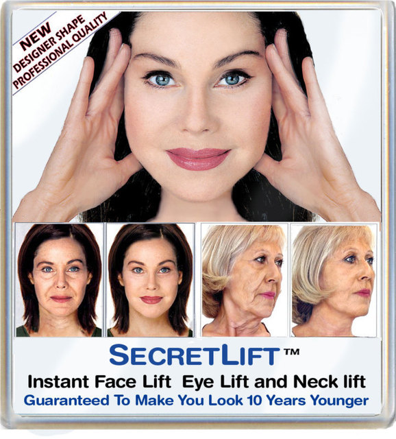 Uitzonderlijk USA_Instant Facelift and Necklift Face Neck Lift Tapes-in Skin  @NR08