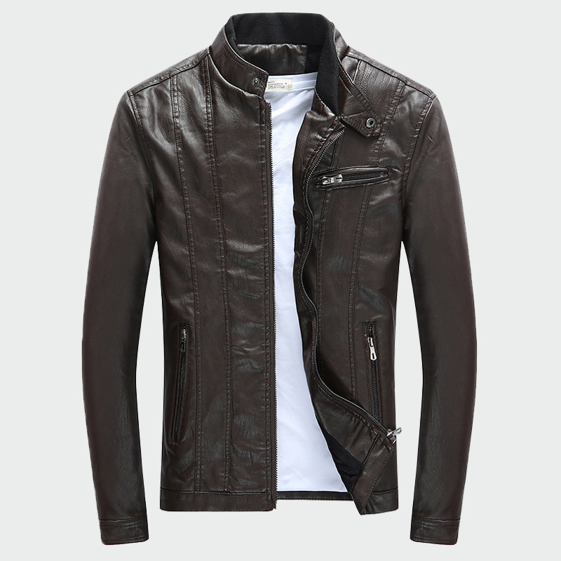 Men 39 s PU Jackets Coats Autumn Winter Motorcycle Biker Faux Leather Jacket Men Clothes Thick Velvet Coats M 3XL in Faux Leather Coats from Men 39 s Clothing