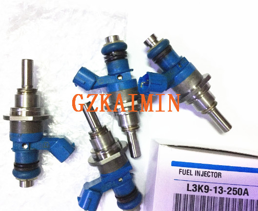 High quality FUEL INJECTOR NOZZLE L3K9-13-250A L3K913250A Turbo 2.3L FOR mazda Speed3 Speed6 CX7 cx8 cx8 E7T20271 E7T20171  . turbo cartridge chra k0422 881 k0422 881 53047109901 l3m713700e turbo for mazda 3 6 for mazda cx 7 2005 mzr 2 3l disi eu 260hp
