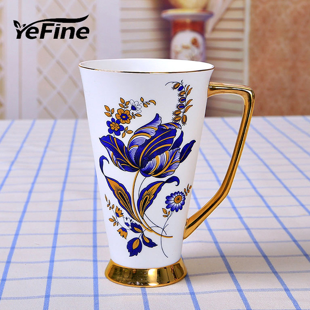 Yefine Ceramics Cupugs Large Capacity Top Grade Porcelain Coffee Mugs Water Container Ceramic Tea