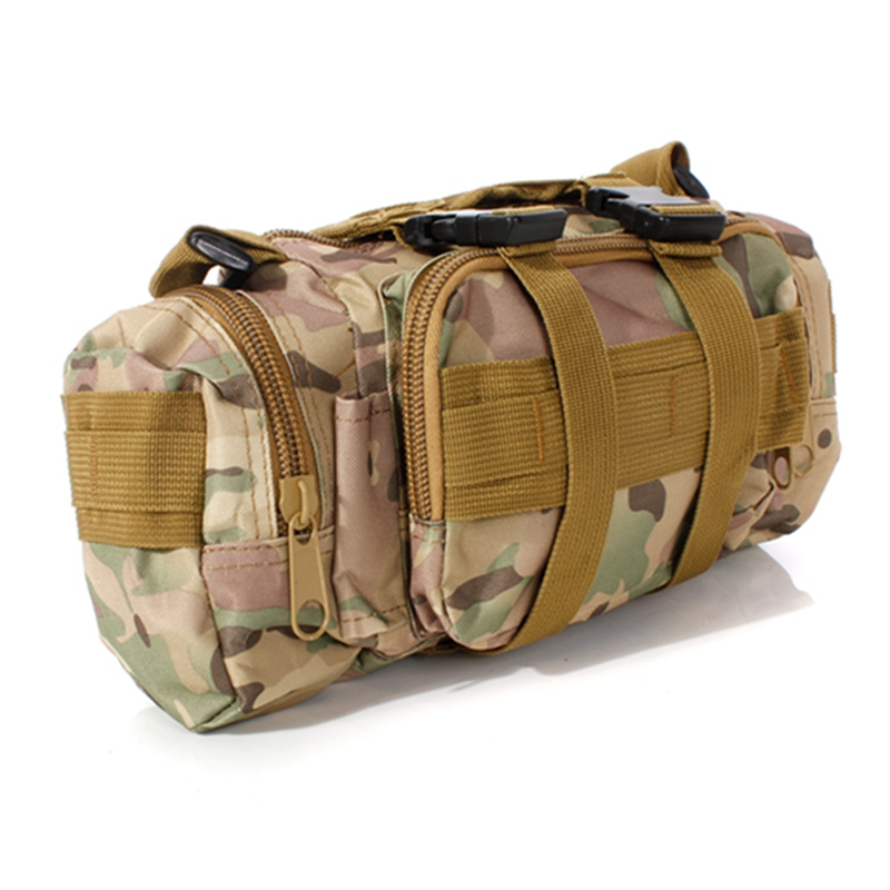 Nylon Military Tactical Molle Assault Military Outdoor Nylon Adjustable Rucksacks Backpack Camping Shoulder Bag 55L