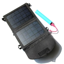 Nuevo 4 vatios 5 v plegable cargador solar para iphone/teléfonos móviles/banco móvil cargador solar panel cargador de batería freeshipping