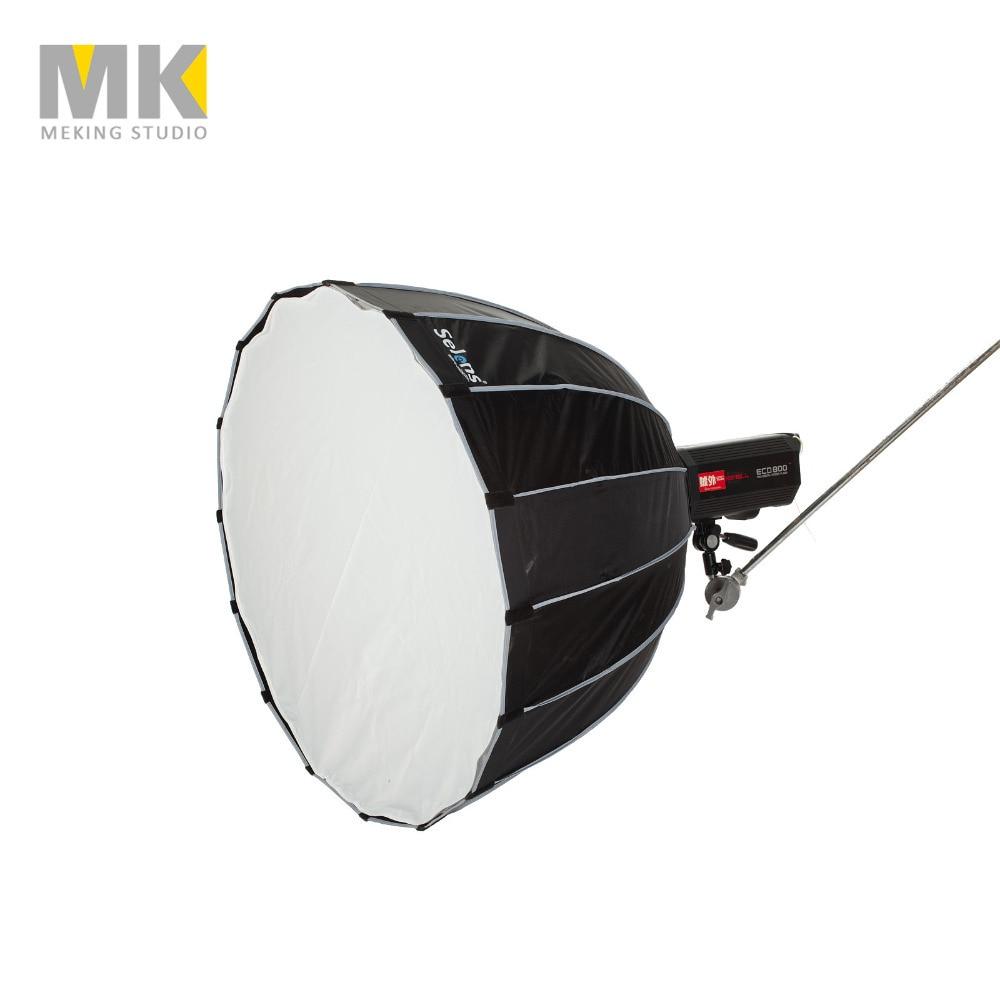 Selens 90 cm 120 cm 150 cm 190 cm boîte souple Hexadecagon parapluie flash studio diffuseur Softbox pour montage Bowens avec sac de transport-in Accessoires pour studio photo from Electronique    1