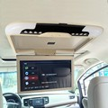 13 дюймов TFT LCD Flip Down Монитор Крыше Автомобиля Установлен Монитор Бежевый