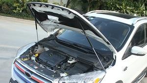 Image 3 - 修理された車のフロントフードカバー油圧ロッドストラットスプリングバー用カースタイリングフォード久我エスケープC520 2013 2015 2017 2019