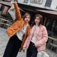 new Autumn Winter Jacket Women Coat Fashion Female Stand Parka Warm Casual  women Overcoat Parkas