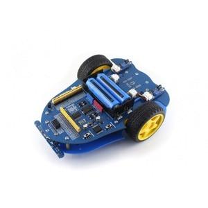 Image 2 - Waveshare AlphaBot רובוט ערכת תואם פטל Pi/Arduino IR שלט רחוק חכם רכב מהירות מדידת מגיע עם מצלמה ect