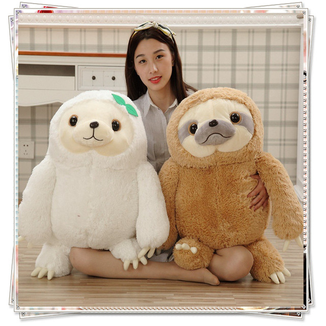 Sloth Stuffed Animals Toys Unicorn Emoji Pillow Plush Toy Cute
