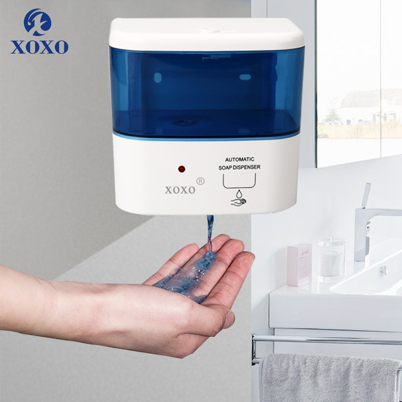 400ML Automatic Soap Dispenser Touchless Sensor Hand Induction Soap Dispenser Wall Mounted For Bathroom Kitchen X3121