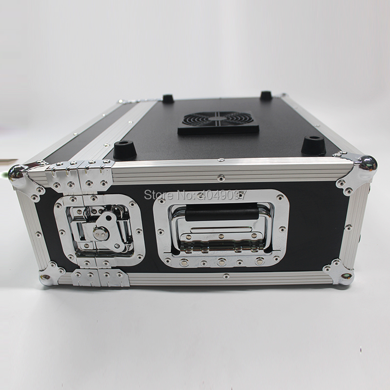 New 1500W Stage Mist Haze Machine Fog Machine with DMX Control Flight Case Package 3.5l Smoke Machine Stage Lighting Effect
