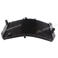 Radiator Cooler Cooling For Honda CBR600RR 2003 2004 2005 2006 F5 Black Aluminum Replacement
