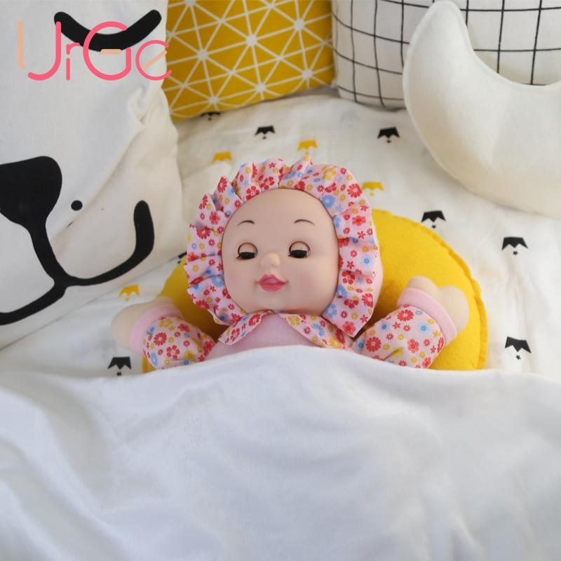 Vente chaude kawaii en peluche poupées en peluche jouets reborn poupées dormi bébé poupée filles jouets jouets pour enfants cadeau de Noël d'anniversaire