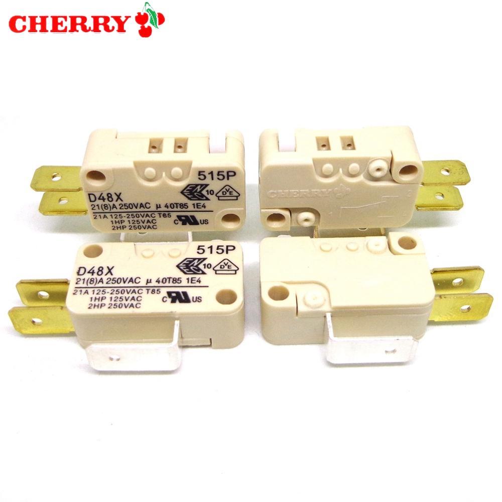10PCS Original CHERRY Micro Switch D48X 21A 250V Brand New And Original