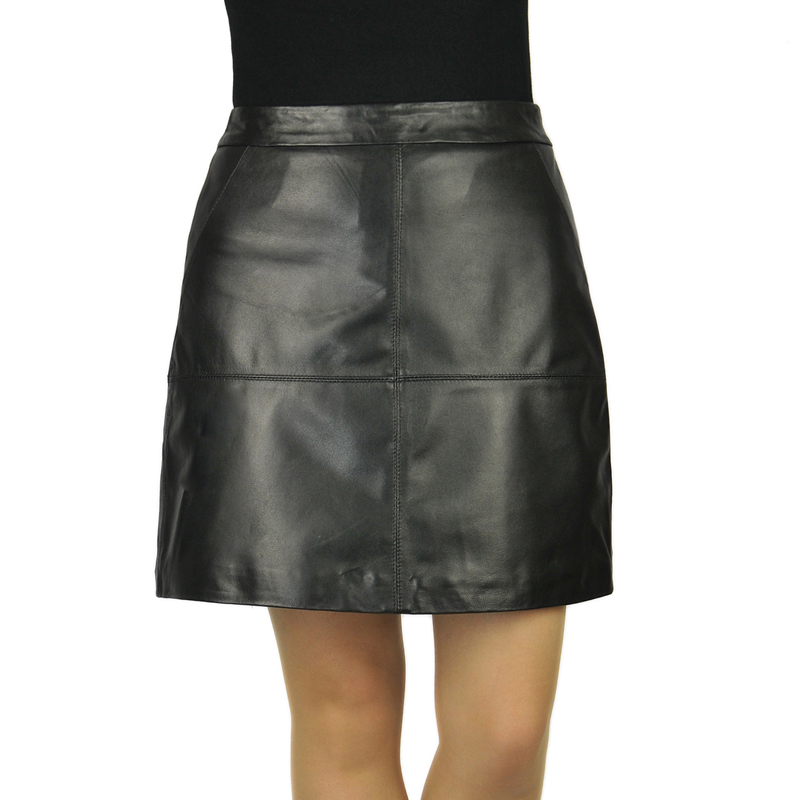 Popular Real Leather Skirt-Buy Cheap Real Leather Skirt lots from ...