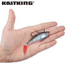 Lifelike Soft Bait with 1 Hook – 12pcs – 10cm