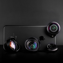 Pholes Wide Angle Fisheye Macro Phone Lens 2X Telephoto Mobile Lens Zoom Camera Lenses for iPhoneX 8 Huawei P20Pro Samsung S8 S9