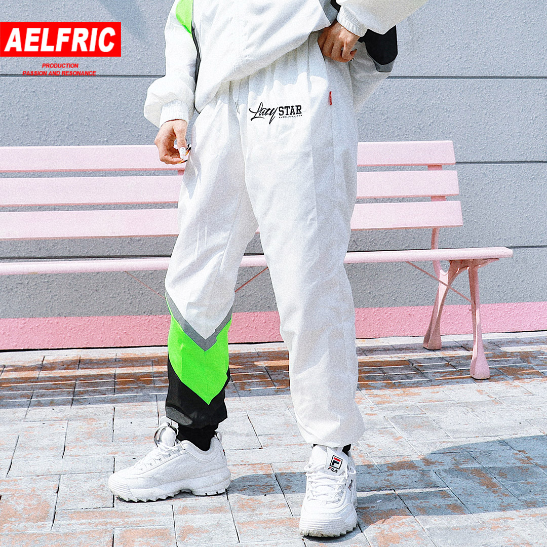 Dependable Aelfric High Street Pant Women Fashion Street Embroidery Jogger Harem Pants Patchwork 3m Reflective Trousers Swearpants Ls09 High Resilience