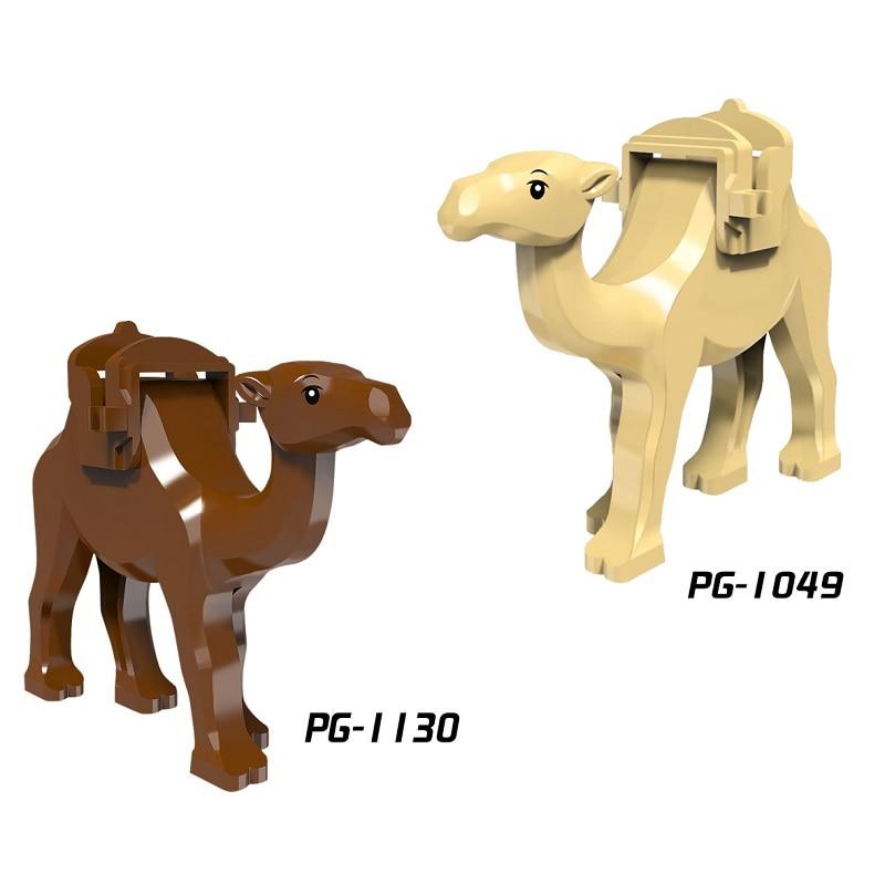 Single Sale Jungle Adventure Prince Of Persia Camel With Saddle Jabba's Rancor Smaug Building Blocks Children Gift Toys PG1049