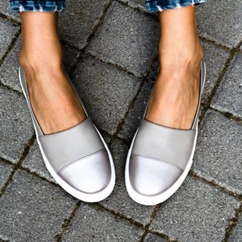 Women's Casual Fashion New Soft Bottom White Shoes Solid Color Shallow Shoes Canvas Shoes Gilrs Sneakers Generation Espadrilles