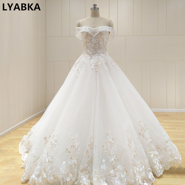 Vintage Wedding Dress Robe De Mariage Sweetheart Princess Wedding ...