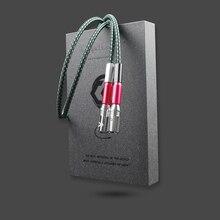 Câble Audio audiophile coppercolor CC FOND III XLR cordon dinterconnexion HiFi avec connecteur XLR plaqué or longueur personnalisable