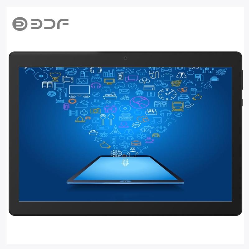 BDF 10 Inch Quad Core Android 7.0 Dual SIM 3G Network Phablet 4GB + 32GB IPS HD Screen Tablet