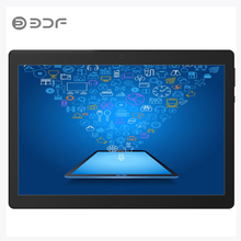 BDF Double SIM 10 Inch Four Core Android 7.0 Tablets 4GB + 32GB  IPS HD Screen Tablet Pc 3G  Card Phone Call Moscow Shipment