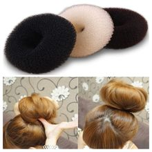 New Hot Fashion Elegant Women Ladies Girls Magic Shaper Donut Hair Ring Bun Fashion Hair Styling Tool Accessories 1PC S/M/L(China)