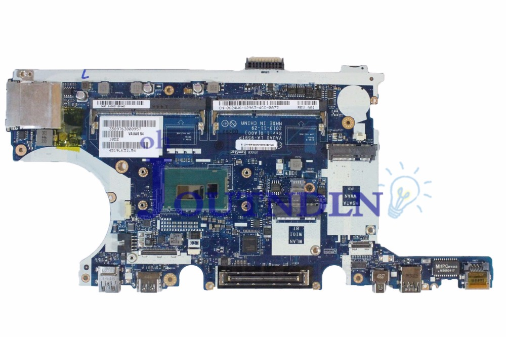 Laptop Accessories Joutndln For Dell Latitude E7440 Laptop Motherboard P9c43 La-9591p 0p9c43 Cn-0p9c43 W/ I5-4310u Cpu High Quality Goods