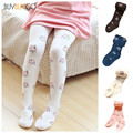 High Elastic Pantyhose Girls Panty-hose Cotton Tights Small Floral Print Dance Tights for Girls Toddler Tight