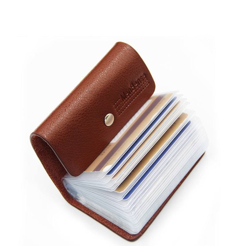 Fashion pu leather function 26 bits card case business card holder fashion pu leather function 26 bits card case business card holder men women credit passport card colourmoves