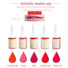 1Pcs High Quality Permanent Makeup Cream lip Pigment Ink Color Professional Tattoo Color For Lip