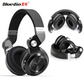 100% Original Bluedio T2 plus T2+ Headsets Wireless Bluetooth 4.1 Stereo Headphones Foldable Stretchable Support TF Card FM