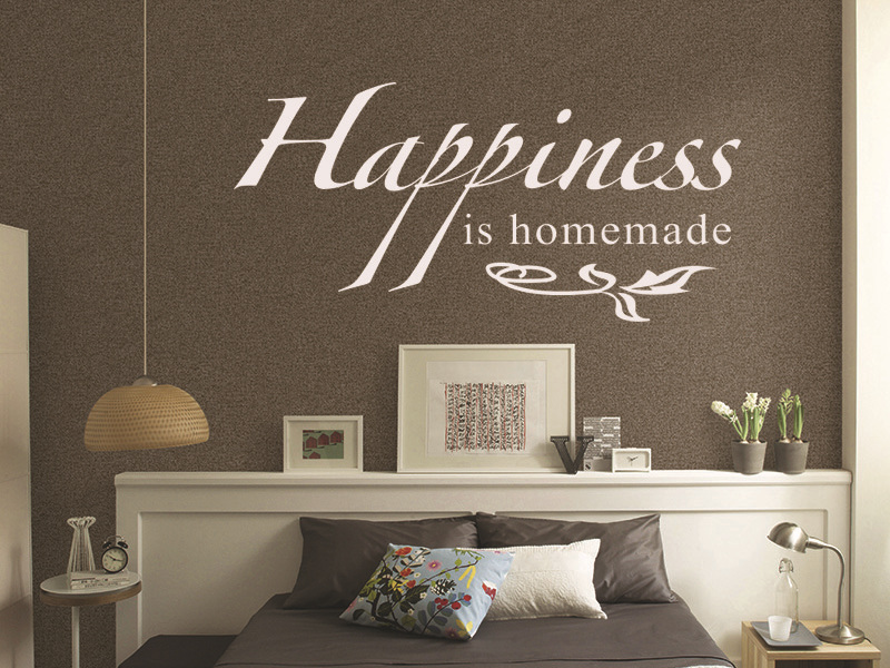 Aliexpress com Buy Mix Wholesale Order Happiness Is Homemade Wall Sticker  Quote Viny Decal Art House. Homemade House Decor  universalcouncil info