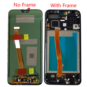 "Image 2 - Original 5.84"" LCD Display Touch Screen For Huawei Honor 10 Honor10 Digitizer with Frame FingerPrint Sensor COL AL10 COL L29 L19"