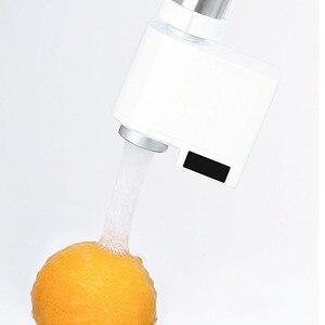 Image 5 - Youpin Zajia Induction économiseur deau Intelligent infrarouge Induction robinet deau Anti débordement capteur économie deau pour la maison