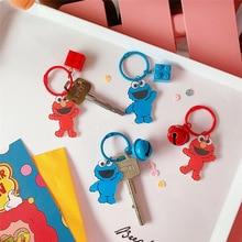 Милый красный синий большой глаз кулон игрушка кукла раскладушка кукла плюшевый брелок 4 вида 3*7,5 см TY01