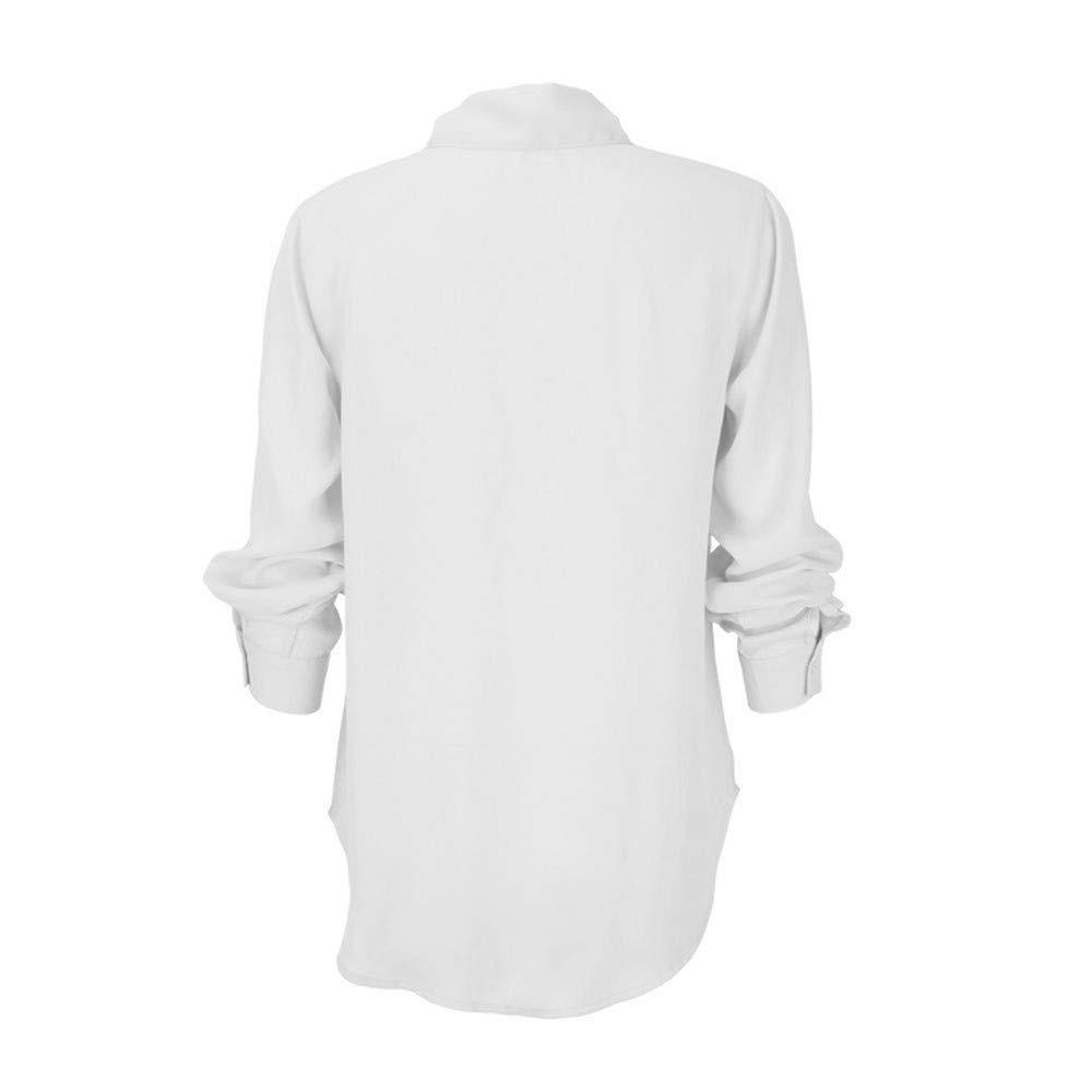 Kadın Giyim'ten Tişörtler'de 35 adet Bayan Kızlar Tops, Mutlu Katı Uzun Çuha Casual V Yaka Katı Kollu Kelebek Kol'da  Grup 1