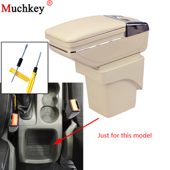 Armrest box For Ford Focus 2 2009 2010 2011 Central Console Arm Rest Store Content box With Cup holder ashtray Car Accessories