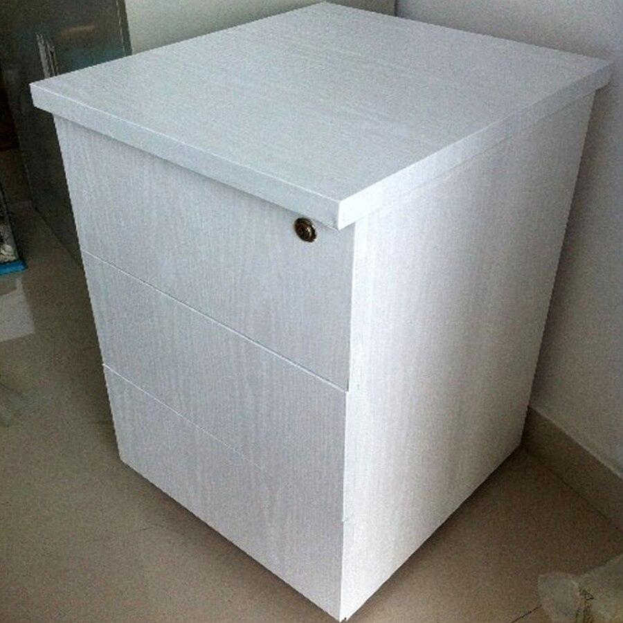3M /5M Self Adhesive Black Wood Wall Sticker Furniture Decorative Film For Kitchen Cabinet Wardrobe Door Vinyl Wallpaper Decor