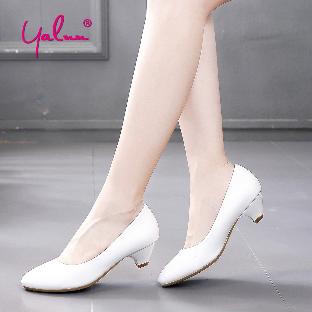 White Ladies High Heel Shoes Big Size Pointed Toe Heels Office Career Women Shoes Pumps Black Elegant Shoes Woman 2018 Spring creativesugar elegant pointed toe woman