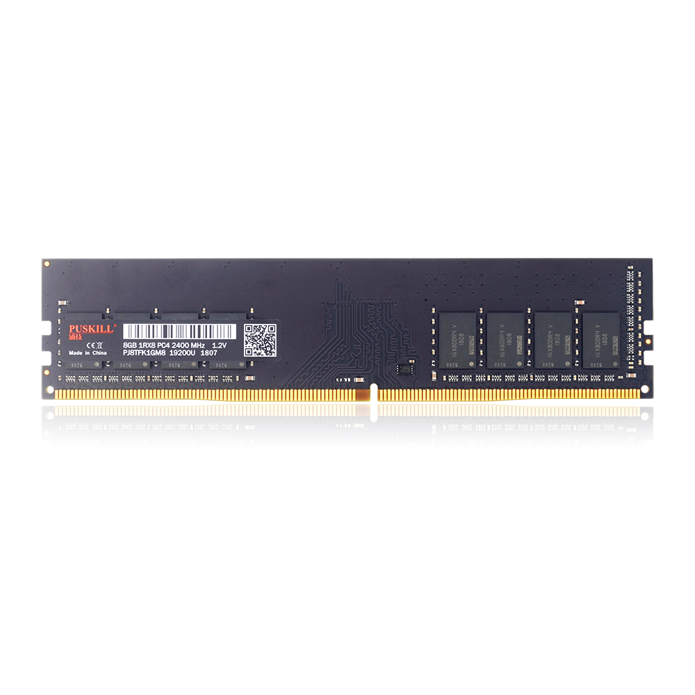 Ordinateur de bureau de mémoire DDR4 8 GO 2400 MHz PC4 288Pin 1.2 V RAM