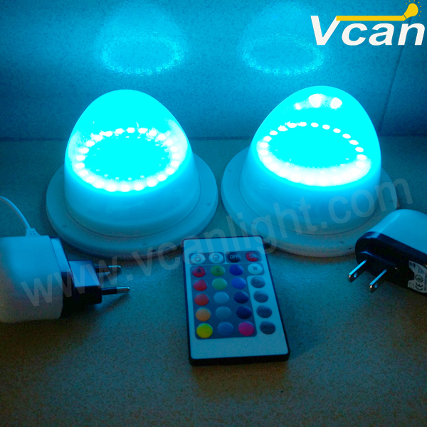 2pcs FAST Free Shipping 38LEDS Super Bright wireless rgb remote control Lighted Parts For Led Furniture Lampwick