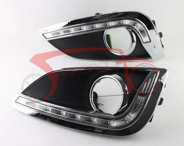 ФОТО LED Daytime Running Light  For Hyundai ix35 2011-2014  DRL