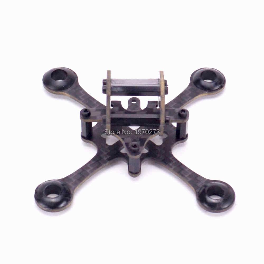 EYAS 55 85mm Mini Drone Quadcopter Kit de marco para RC UAV interior FPV Racing F3 de control de vuelo de 7mm /8mm Mini cepillo Motor 55mm